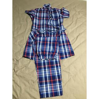 アカチャンホンポ(アカチャンホンポ)の授乳パジャマ 半袖 ワンピース ズボン セット(マタニティパジャマ)