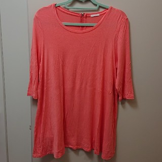 ジーユー(GU)のGU 七分袖 Tシャツ Mサイズ(Tシャツ(長袖/七分))