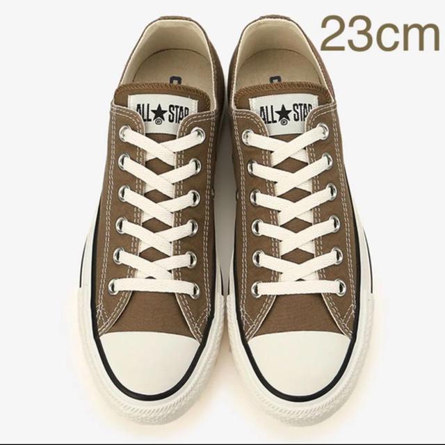 ca6f192ef89304 CONVERSE(コンバース)の新品☆コンバース ブラウン 23cm オールスター ローカット レディースの靴/