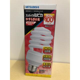 ミツビシ(三菱)のMITSUBISHI スパイラルピカ 4個セット(蛍光灯/電球)