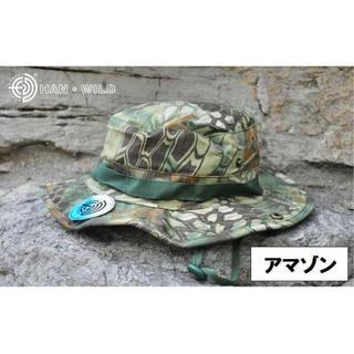 アマゾン メンズ レディース 迷彩 帽子 2WAY ブーニー テンガロン ハット(ハット)