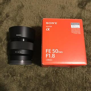 ソニー(SONY)のSONY 50mm f1.8(レンズ(単焦点))