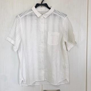 ジーユー(GU)の半袖シャツ(シャツ/ブラウス(半袖/袖なし))