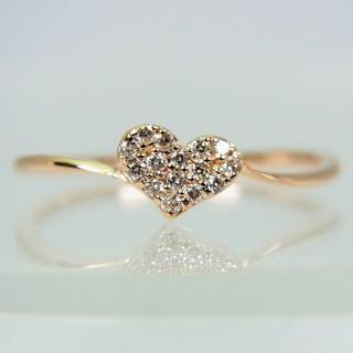 サマンサティアラ(Samantha Tiara)のサマンサティアラ K18PG ダイヤモンド リング 10.5号[f417-4](リング(指輪))