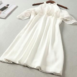 ドレス 長袖 春コーデ 快適 女性 通勤 LL0407067(ロングドレス)