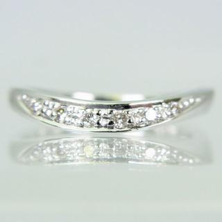 スタージュエリー(STAR JEWELRY)のスタージュエリー K18WG ダイヤ リング 3号[f433-8](リング(指輪))