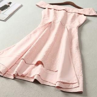 ドレス 長袖 春コーデ 快適 女性 通勤 LL0407068(ロングドレス)
