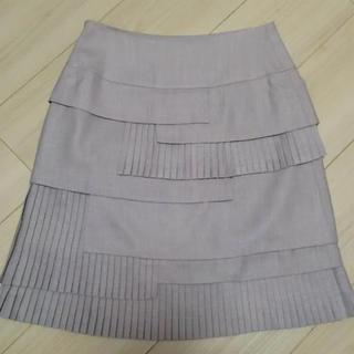 デビュードフィオレ(Debut de Fiore)のデビュードフィオレ プリーツスカート 新品(ひざ丈スカート)