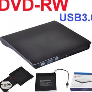 外付けDVDドライブUSB 3.0 DVD CDプレイヤー(DVDプレーヤー)