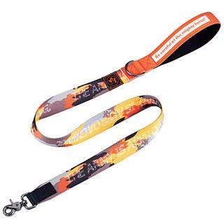 おしゃれな迷彩犬用リード 3.5cmスーパー幅のデザイン リード (リード/首輪)