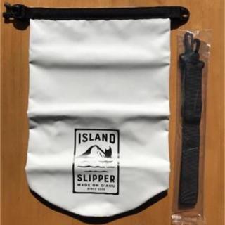 アイランドスリッパ(ISLAND SLIPPER)の非売品 ISLAND SLIPPER アイランドスリッパ ノベルティ 防水バッグ(サンダル)