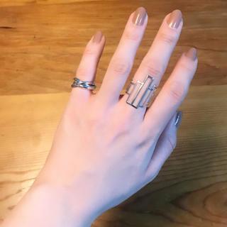 ナディア(NADIA)のシルバーリング(リング(指輪))