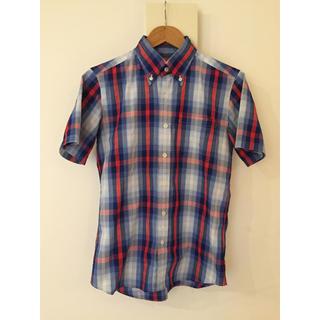 ソフネット(SOPHNET.)のSOPHNET. 半袖シャツ チェックシャツ(シャツ)