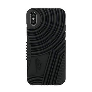 ナイキ(NIKE)のNIKE(ナイキ) iPhoneX ケース DG0025-001 ブラック(iPhoneケース)