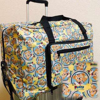 人気☆ダッフィー&フレンズ 折り畳み ボストンバッグ コンパクト 旅行バッグ(スーツケース/キャリーバッグ)