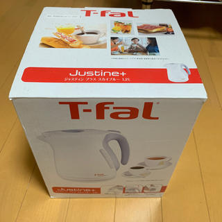 ティファール(T-fal)のT-fal ジャスティン+ 12L 電気ケトル ティファール 新品(電気ケトル)