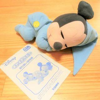 ディズニー(Disney)のすやすやベビー ミッキー ディズニー【ジャンク品】(その他)