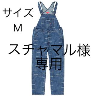 シュプリーム(Supreme)のsupreme Logo Denim Overalls Mサイズ blue(サロペット/オーバーオール)
