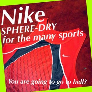ナイキ(NIKE)の♦️【nike】限定モデルのクリムゾンリバー☆‼️美品 スポーツ ランニング(タンクトップ)