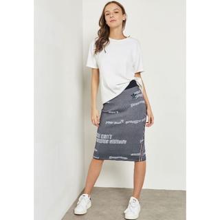 アディダス(adidas)のadidas graphic skirt  サイズ OT(ひざ丈スカート)