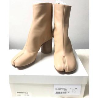 マルタンマルジェラ(Maison Martin Margiela)のMaison Margiela足袋TABIレザーアンクルブーツ 新品(ブーツ)