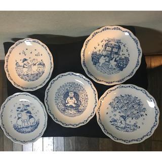 ニッコー(NIKKO)のニッコー テディプレート 5枚(食器)