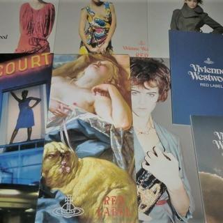 ヴィヴィアンウエストウッド(Vivienne Westwood)の希少インポートRED LABELランウェイルックブック希少カタログ8冊(ノベルティグッズ)