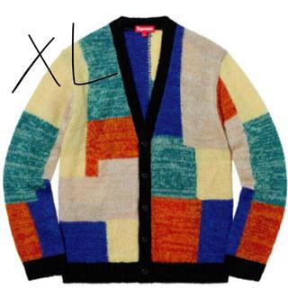 シュプリーム(Supreme)の19 Supreme XL Patchwork Mohair Cardigan (カーディガン)