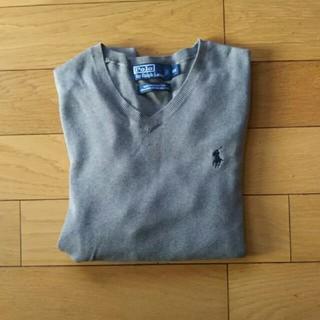 ポロラルフローレン(POLO RALPH LAUREN)のポロ ラルフローレン 綿セーター  メンズ(ニット/セーター)
