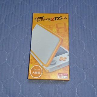 ニンテンドー2DS(ニンテンドー2DS)の任天堂『Newニンテンドー2DS LL ホワイト×オレンジ』送料別(携帯用ゲーム本体)