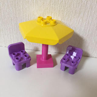 レゴ(Lego)のレゴ  デュプロ   ピンクのカフェ(積み木/ブロック)