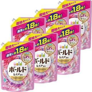 ボールド アロマティックフローラル&サボンの香り 詰め替え1.26kg×6個(洗剤/柔軟剤)