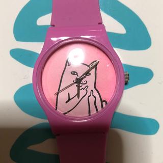シュプリーム(Supreme)のRIPNDIP シリコン腕時計 (ラバーベルト)