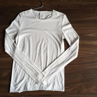 ヴェリテクール(Veritecoeur)のVeritecoeur ヴェリテクール  ロングスリーブ Tシャツ   白(Tシャツ(長袖/七分))