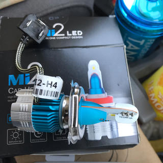 車検対応LEDヘッドライト(汎用パーツ)