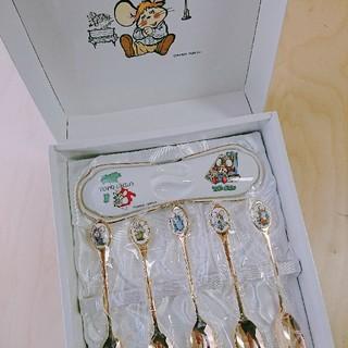 トッポジージョ ティースプーンセット   陶器 ケース(カトラリー/箸)