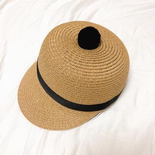 フロムファーストミュゼ(FROMFIRST Musee)の新品!HIAND キッズ ストローハット(帽子)