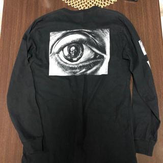 シュプリーム(Supreme)のマーク様専用 シュプリームxエッシャーアイズロンTシャツ(Tシャツ/カットソー(半袖/袖なし))
