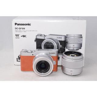 パナソニック(Panasonic)の展示品☆Panasonic LUMIX DC-GF9W ダブルレンズキット(ミラーレス一眼)
