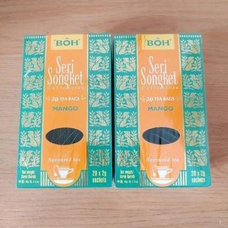 ボー(BOH)のBOH 紅茶 マンゴー 2箱 ティーバッグ(茶)