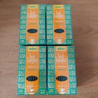 ボー(BOH)のBOH 紅茶 マンゴー 4箱 ティーバッグ(茶)