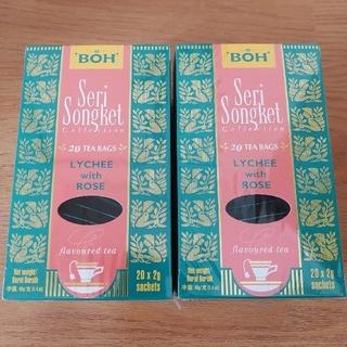 ボー(BOH)のBOH 紅茶 ライチローズ 2箱 ティーバッグ(茶)