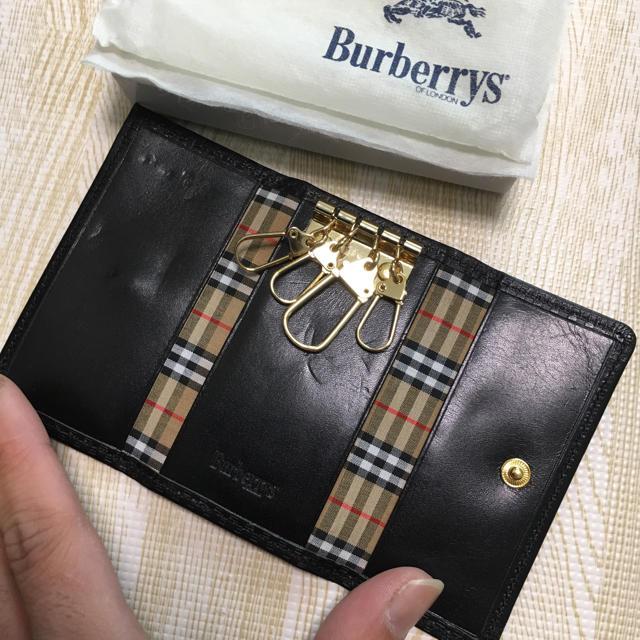 BURBERRY(バーバリー)の正規品バーバリーキーケース メンズのファッション小物(キーケース)の商品写真