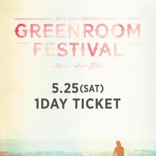 greenroom festival 2019 5/25(土)チケット2枚(音楽フェス)