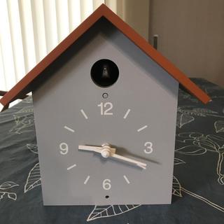 ムジルシリョウヒン(MUJI (無印良品))の無印 鳩時計 早い者勝ち 値下げ(掛時計/柱時計)