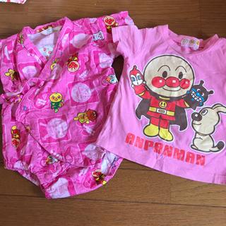 アンパンマン(アンパンマン)のアンパンマンの甚平ロンパースとTシャツ(甚平/浴衣)