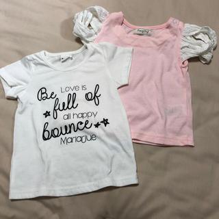 シマムラ(しまむら)のTシャツ 2枚セット 90サイズ(Tシャツ/カットソー)