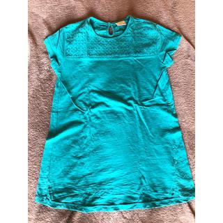 ザラ(ZARA)のZARA チュニックTシャツ 140(Tシャツ/カットソー)