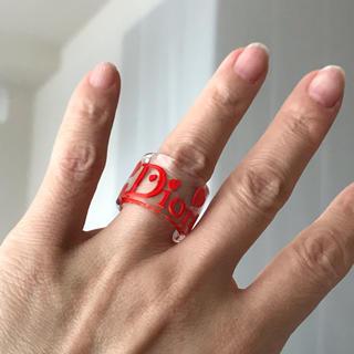 クリスチャンディオール(Christian Dior)のディオール クリアリング(リング(指輪))