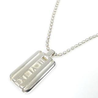 ティファニー(Tiffany & Co.)の美品 ティファニー アトラス プレート ネックレス TH32(ネックレス)